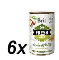 Brit Fresh Duck with Millet 6x400g