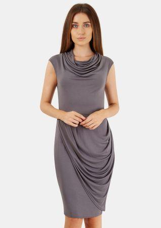 Closet London dámské šaty 36 sivá