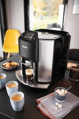 One touch cappuccino, 17 druhů kávových nápojů na jeden dotek