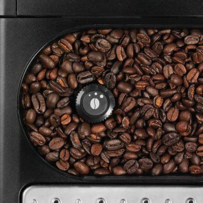 Krups EA907D31 volitelná teplota, množství, hrubost namletí kávy