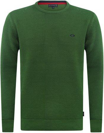 Sir Raymond Tailor moški pulover Contest, XXL, zelen