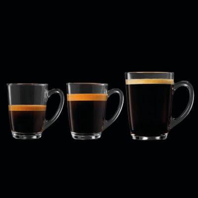 A Krups EA 8108 Roma káve erőssége, mennyisége kiválasztható