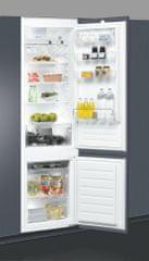 Whirlpool ART 9610/A+ Beépíthető kombinált hűtő
