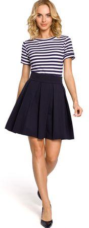Made of Emotion dámská sukně XL tmavo modrá