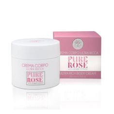 Erbario Toscano Vyživujúci telový krém Ruža (Ultra Rich Body Cream) 200 ml