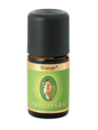 Primavera Naturalny olejek pomarańczowy Bio Demeter (objętość 10 ml)
