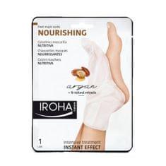 Vyživujúce maska na nohy a nechty s arganovým olejom (Nourishing Foot Mask Socks Argan) 2 x 9 ml