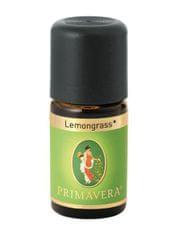 Primavera Naturalne olejki eteryczne Lemongrass Bio 5 ml