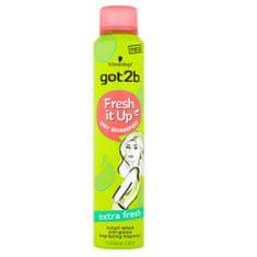got2b Odświeżanie sucho szampon Fresh it Up Dodatkowe Fresh (Dry Shampoo) 200 ml