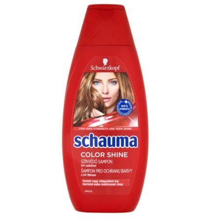 Schauma Színvédő sampon festett hajra Color Shine(Shampoo) 400 ml