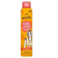 got2b Strukturyzacja sucho szampon Fresh it Up Texture (Dry Shampoo) 200 ml