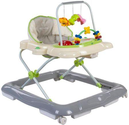 Sun Baby chodzik dziecięcy Footy, zielono-szary