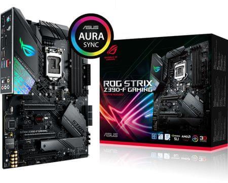 Asus osnovna plošča ROG STRIX Z390-F GAMING, DDR4, USB 3.1 Gen 2, LGA1151, ATX