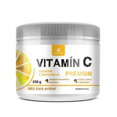 Allnature Vitamín C prášok Premium 250 g