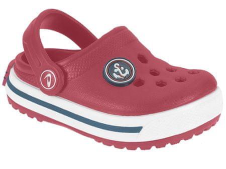 Beppi dekliški sandali Eva Clog, 26, rdeči