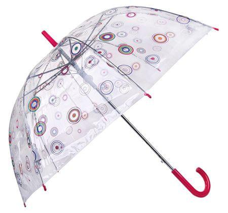 Blooming Brollies Női átlátszó esernyő Basics Clear Circle 12036-as