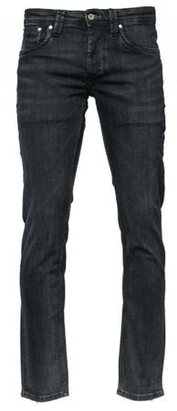 Pepe Jeans muške traperice Cash, 33/34, crna