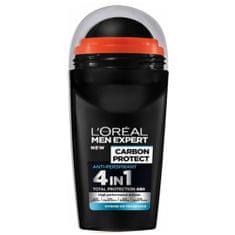 L'ORÉAL PARIS Kuličkový antiperspirant pro muže Carbon Protect 50 ml