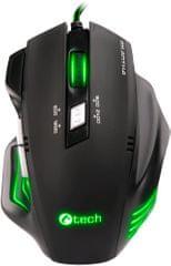 C-Tech Akantha, zelené podsvícení (GM-01G)