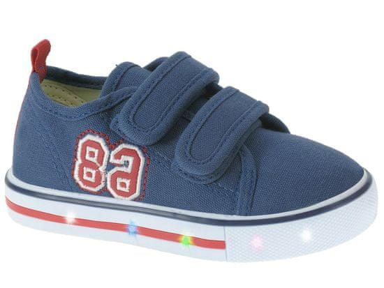 Beppi chlapčenské tenisky Canvas Shoe 28 modrá