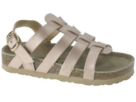 Beppi sandale za djevojčice Canvas Shoe, 28, brončana