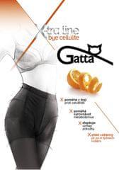 Gatta Černé dámské punčochové kalhoty Bye Cellulite Black
