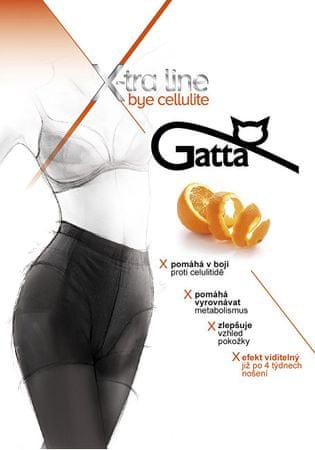 Gatta Černé dámské punčochové kalhoty Bye Cellulite Black (Velikost M)