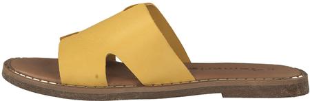 Tamaris klapki damskie 37 żółte