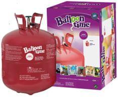 Helium Ballon Time do balónků - jednorázová nádoba 420 l