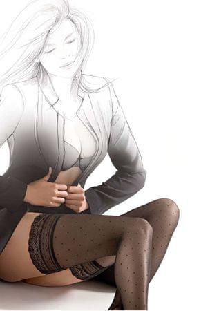 Gatta Udo wysokie czarne pończochy Assel 01 Calze Nero (rozmiar 3-4)