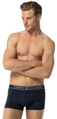 Tommy Hilfiger Férfi boxer alsónadrág Stripe Micro Low Rise Trunk 1U87906052-416 Navy Blazer