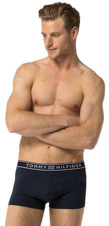 Tommy Hilfiger Bokserki męskie Paski Micro Low Rise Trunk 1U87906052-416 Navy Blazer (rozmiar S)