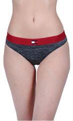 Tommy Hilfiger Flag Tech Bikini Dark Grey Heather Bikini UW0UW01042-091