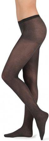 Evona Női harisnyanadrág Melange 999 fekete (méret 164-108)