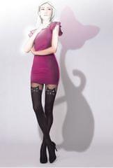 Gatta Černé punčochové kalhoty Girl-Up Cat Nero