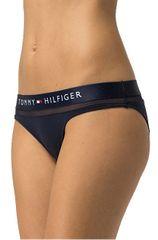 Tommy Hilfiger Dámské kalhotky Sheer Flex Cotton Bikini UW0UW00022-416 Navy Blazer