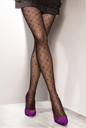 Gatta Dámské punčochové kalhoty Royale 04 Nero (Velikost 4)