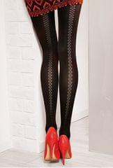 Gatta Dámské punčochové kalhoty Loretta 121 Nero