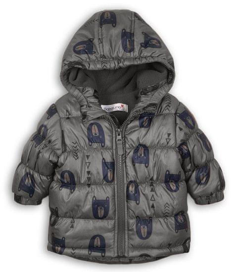 Minoti chlapecká zimní bunda Puffa Adventure 68 hnědá