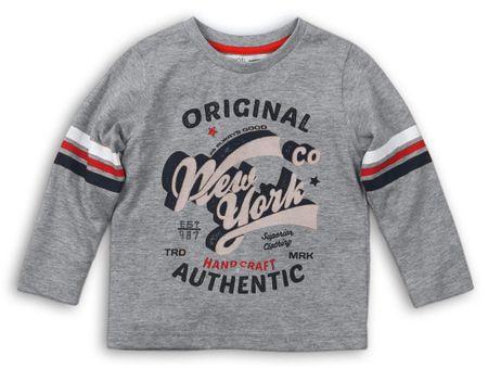 Minoti chlapecké tričko School 80 šedá