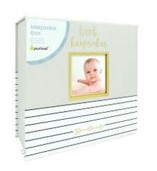 Pearhead kutija za posebna dječja sjećanja, siva