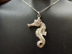 Přívěsek Mořský koník (velký) stříbrný
