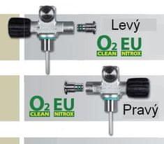 SCUBATECH Ventil mono rozšíriteľný EU NITROX M26/2 ,Pravý a ľavý