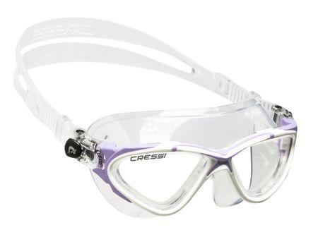 Cressi Brýle plavecké PLANET LADY, trans zorník/bílá/fialová