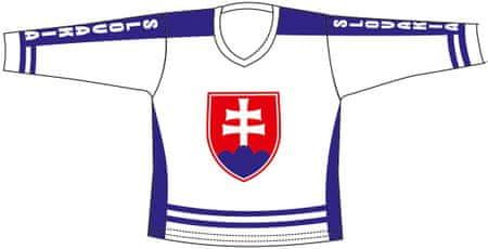 Sportteam Hokejový dres SR 3, bílý M