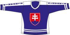 Sportteam Hokejový dres SR 4, modrý