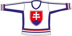 Sportteam Hokejový dres SR 6, bílý