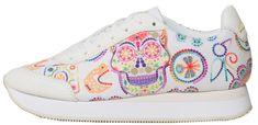 Desigual Dámské tenisky Shoes Galaxy Skull 19SSKF08 1000