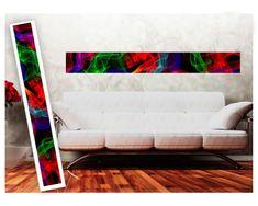 Dimex Dekoračné pásy - Farebný abstrakt, 32 x 270 cm