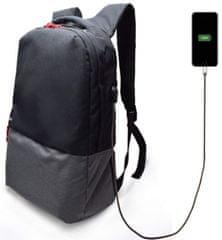 "Ewent nahrbtnik za prenosnik EW2529, 43,9 cm (17,3""), USB port, črn"